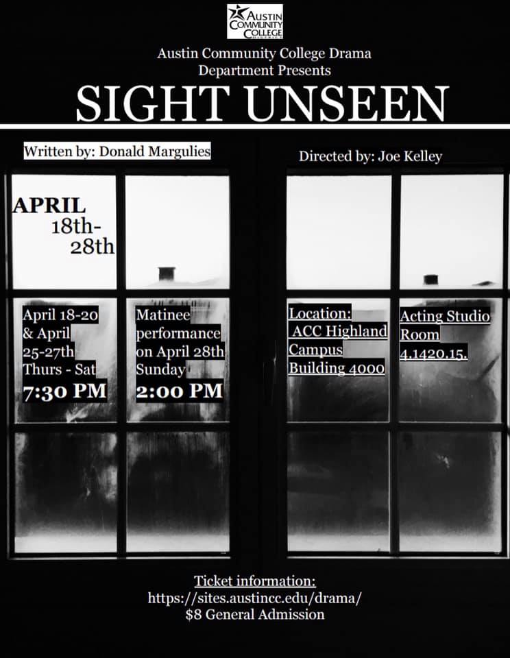 Sight Unseen by Austin Community College