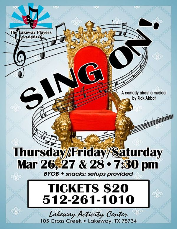 Sing On! by Lakeway Players