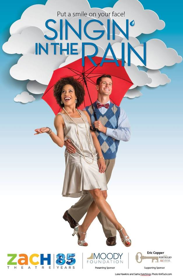 Singin' in the Rain by Zach Theatre