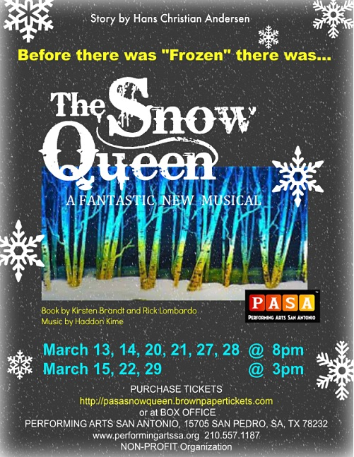 The Snow Queen, musical by Performing Arts San Antonio (PASA)
