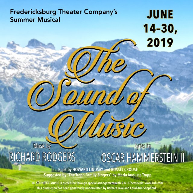 The Sound of Music by Fredericksburg Theater Company