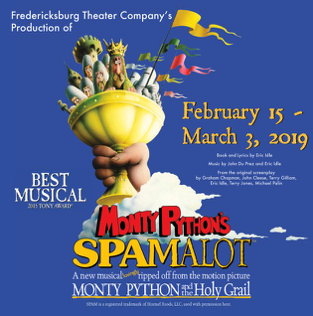 Spamalot by Fredericksburg Theater Company