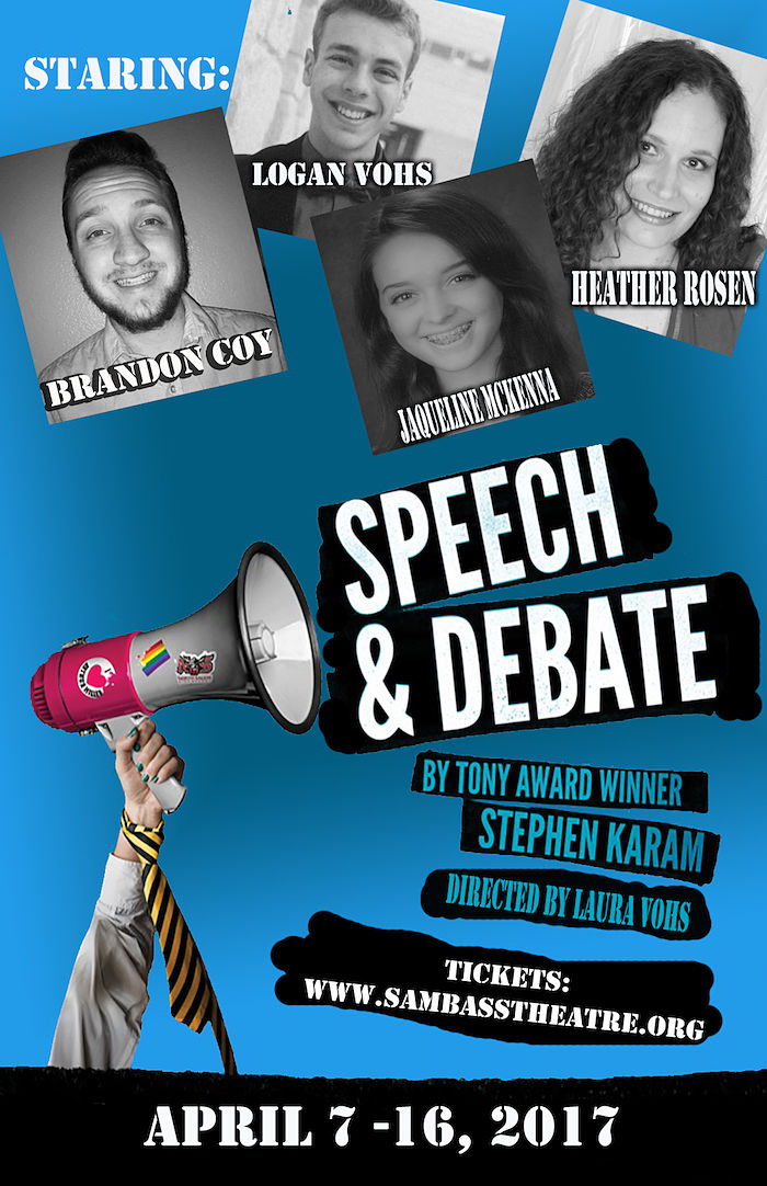 Speech and Debate by Sam Bass Community Theatre