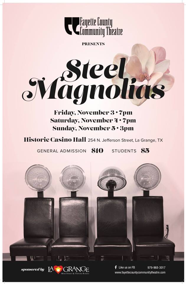 Steel Magnolias by Fayette County Community Theatre