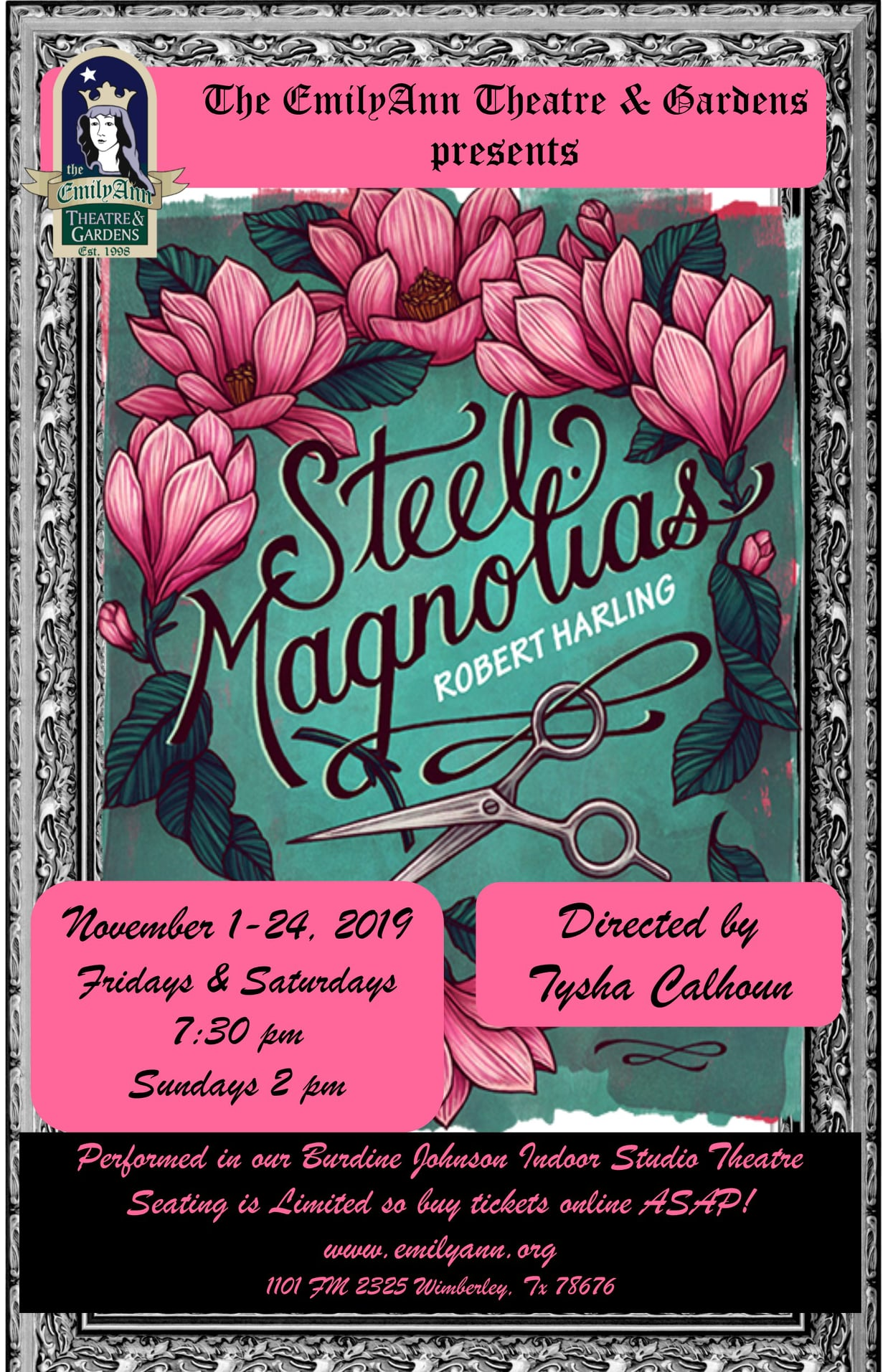 Steel Magnolias by Emily Ann Theatre