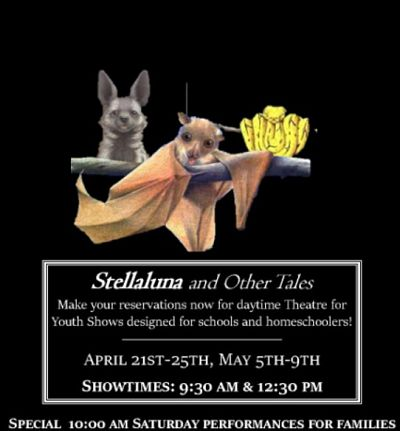 Stellaluna and Other Tales by Georgetown Palace Theatre