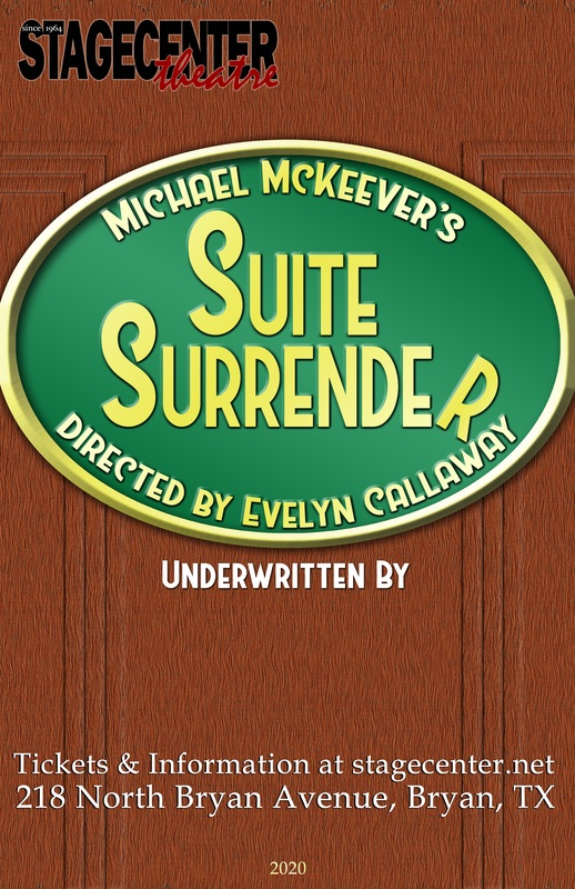 Suite Surrender by StageCenter Community Theatre