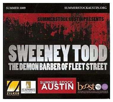 Sweeney Todd by SummerStock Austin