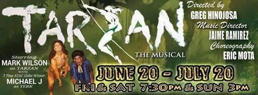 Tarzan, the musical by Woodlawn Theatre