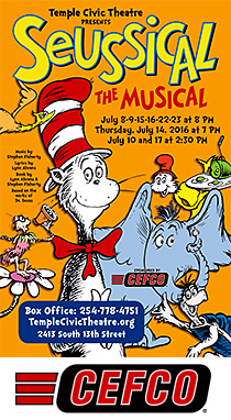 Seussical, the musical by Temple Civic Theatre