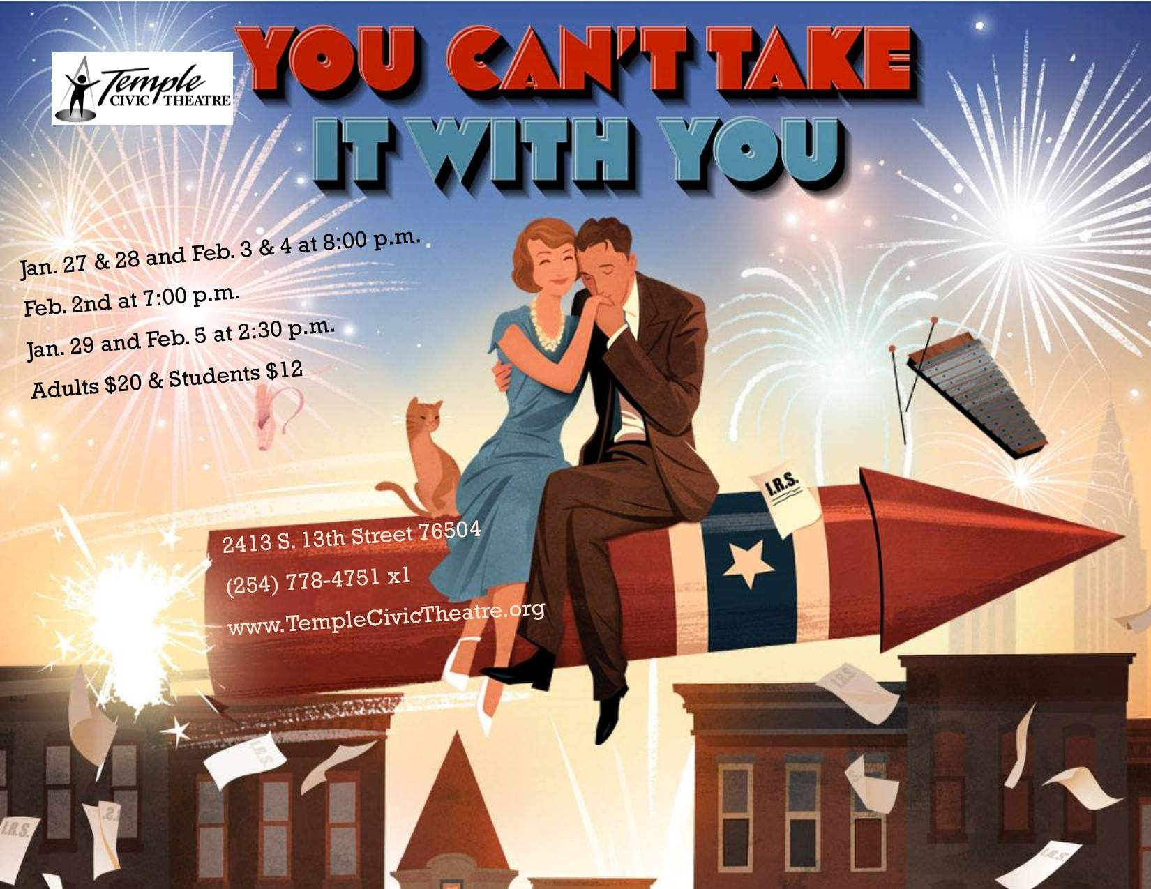 You Can't Take it with You by Temple Civic Theatre