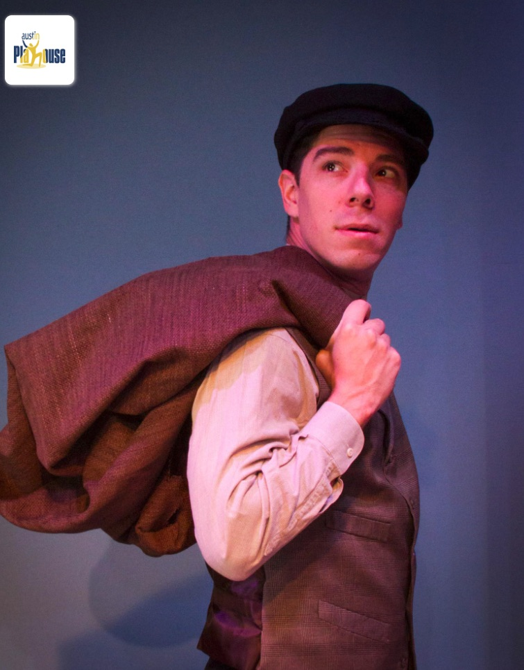 Joseph Garlock (photo via Austin Playhouse)