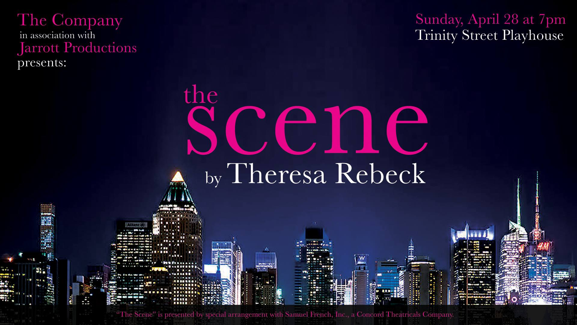 The Scene by Jarrott Productions
