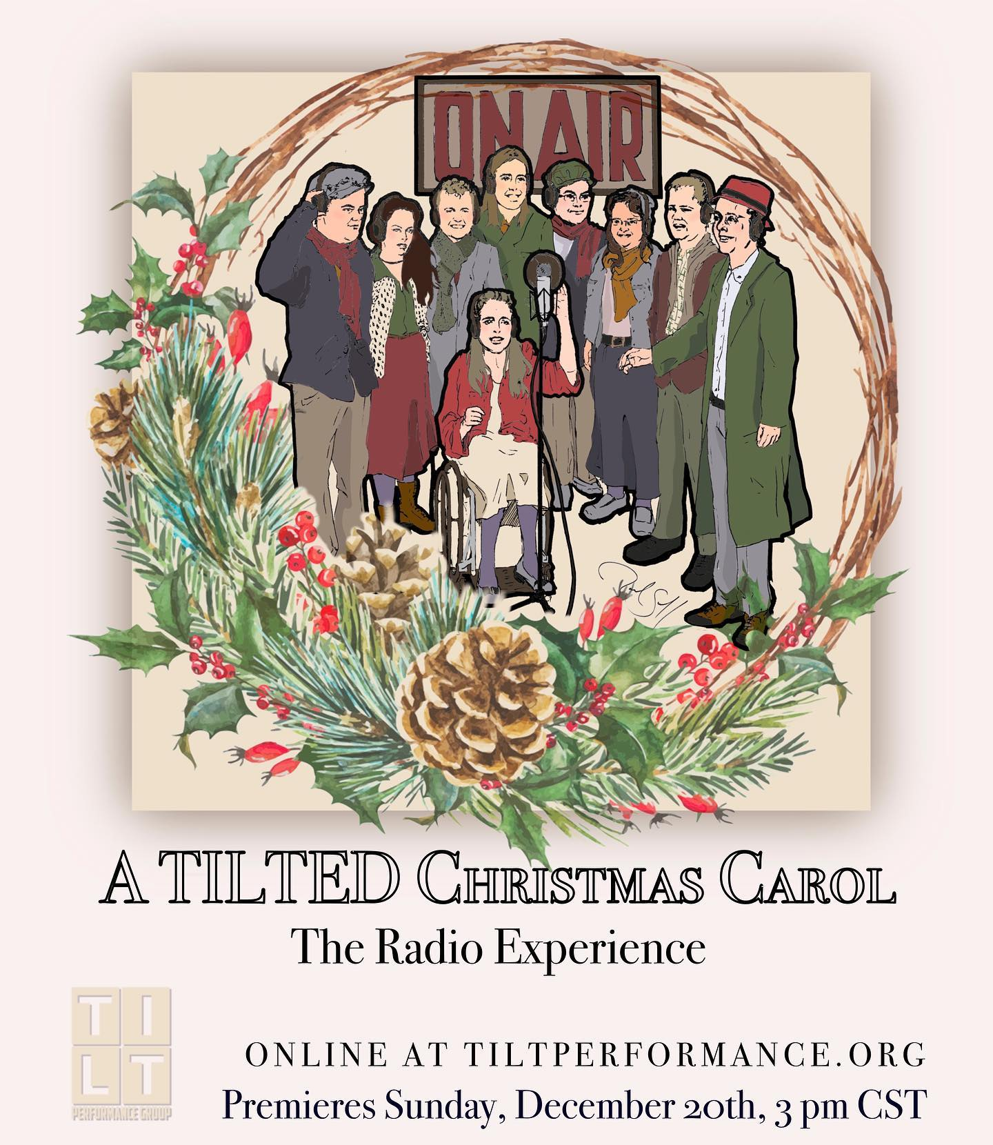 A Tilted Christmas Carol - The Radio Experience by TILT Performance Group