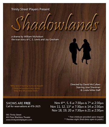 Shadowlands by Trinity Street Players