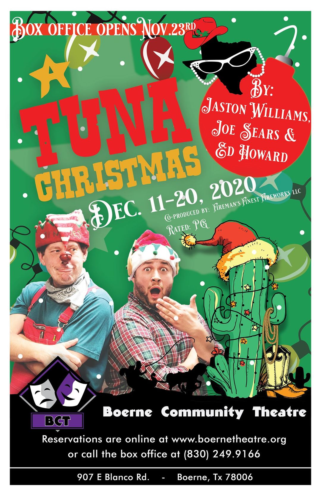 A Tuna Christmas by Boerne Community Theatre