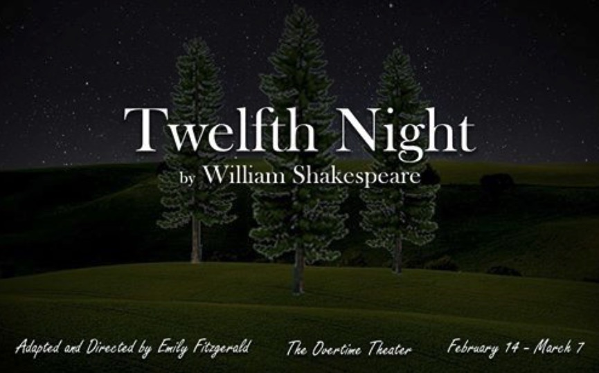 Auditions for Twelfth Night, by Overtime Theater, San Antonio