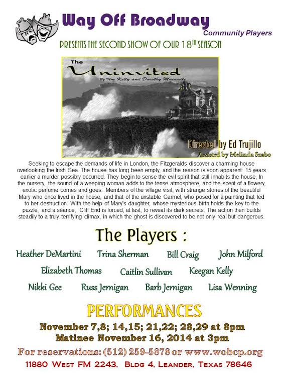 The Uninvited by Way Off Broadway Community Players