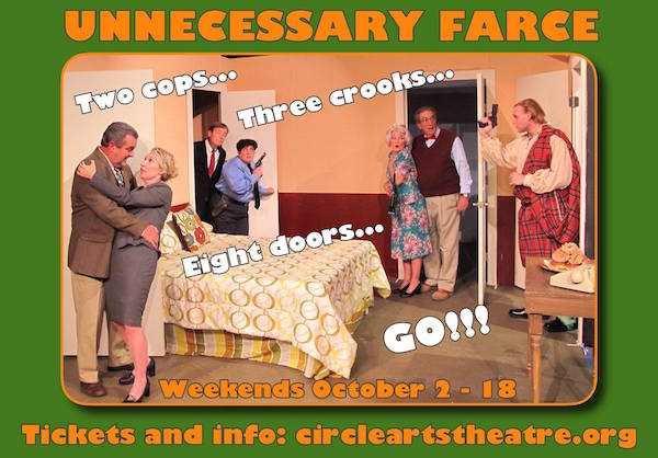 Unnecessary Farce by Circle Arts Theatre