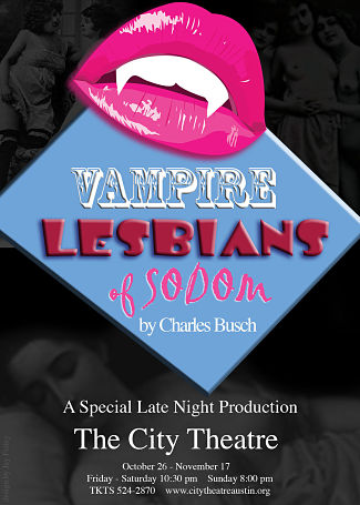 Vampire Lesbians of Sodom by City Theatre Company