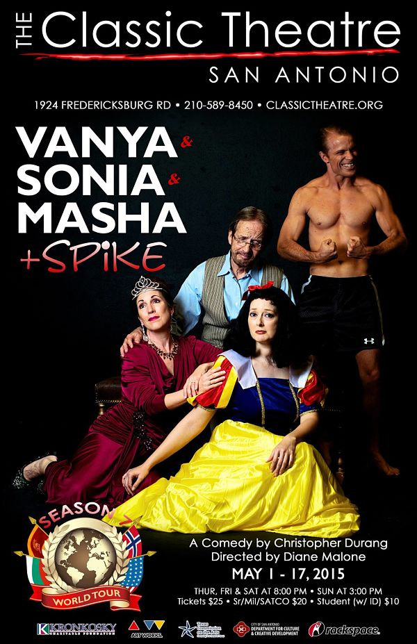 Vanya and Sonia and Masha and Spike by Classic Theatre of San Antonio