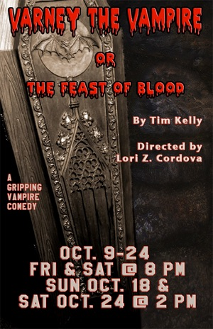 Varney the Vampire or The Feast of Blood by Gaslight Baker Theatre