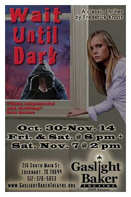 Wait Until Dark by Gaslight Baker Theatre