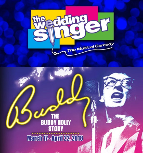 Auditions for The Wedding Singer AND Buddy, the Buddy Holly Story, by Roxie Theatre Company