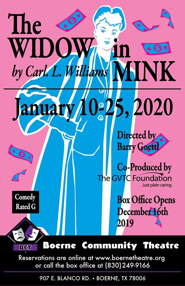 The Widow in Mink by Boerne Community Theatre