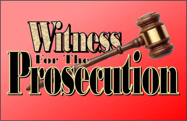 Auditions for Witness for the Prosecution, by Playhouse 2000