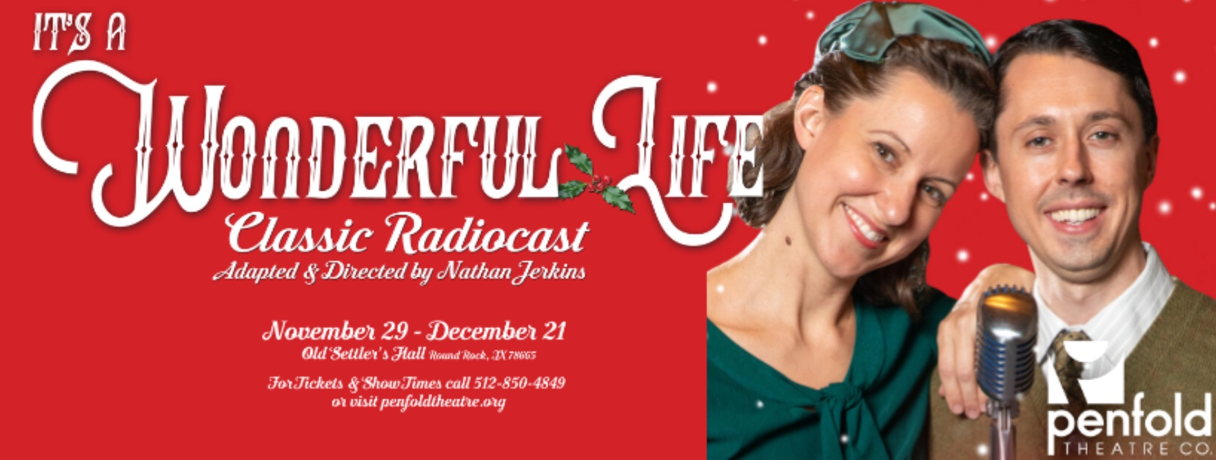It's A Wonderful Life, a Live Radio Play by Penfold Theatre Company
