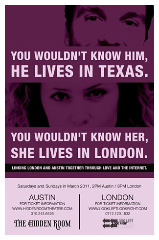 You Wouldn't Know Him/Her, He/She Lives in Austin/Edinburgh (March) by Hidden Room Theatre