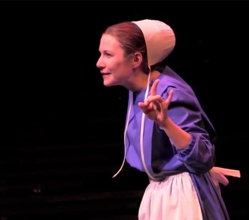 Sarah Gise (image from Attic rep video)