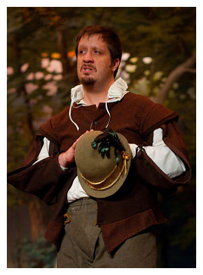 Robert Matney as Jacques (photo © Kimberley Mead)
