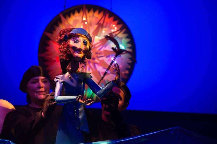 Review: Atlantis, A Puppet Opera by Chad Salvata, Directed for Ethos by Bonnie Cullum, September 3 - 24, 2016 at the Vortex