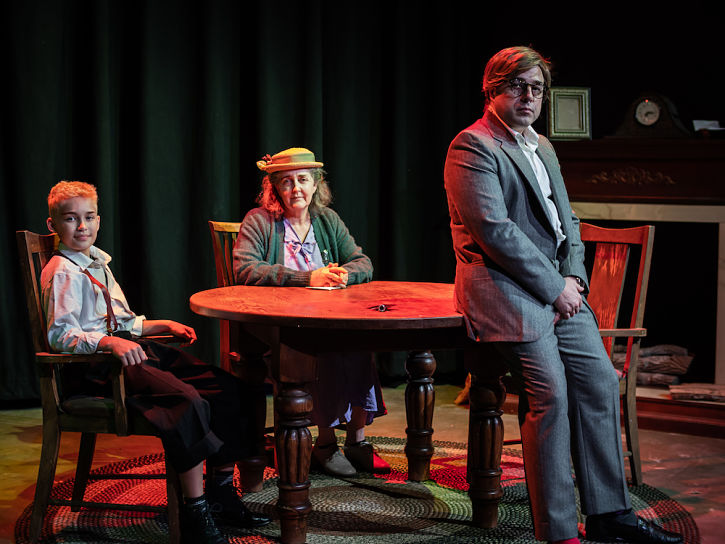 Zak Meisenhelter, Carol Hickey, Luke Hill (photo from Alchemy Theatre)