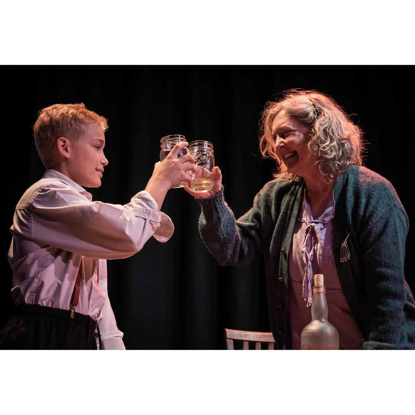 Zak Meisenhelter, Carol Hickey (photo from Alchemy Theatre Company)