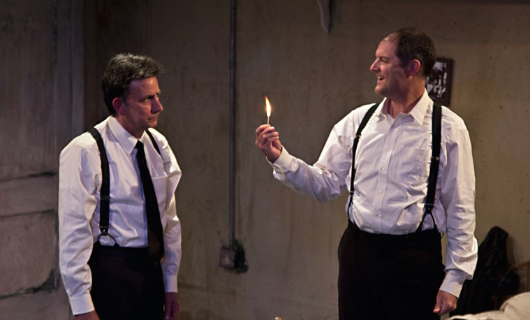the dumb waiter is written by Faculty of arts and philosophy menace in the dumb waiter and the room by harold pinter written in the style of the theatre of the absurd, the basic feature and notion of this type.