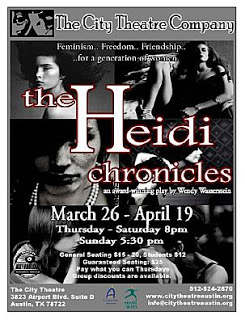 The Heidi Chronicles by City Theatre Company