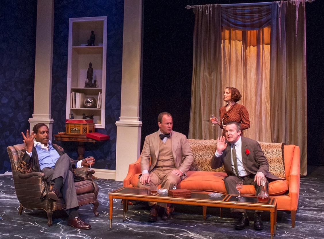 Marc Pouhé, Robert Deike, Alison Stebbins, Michael Miller (photo: Austin Shakespeare)