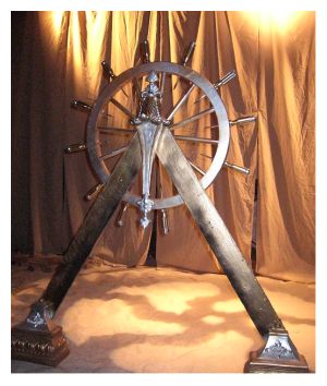 The Ship's Wheel (design: Kevin Scholtes)
