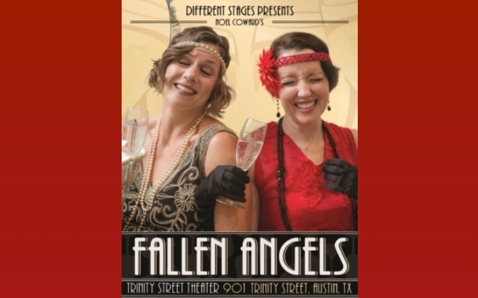 Review by Michael Meigs (#2 of 3): FALLEN ANGELS by Noël Coward, Different Stages, January 8 - 30, 2016