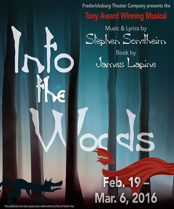 Into The Woods by Fredericksburg Theater Company
